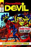 Cover for L'Incredibile Devil (Editoriale Corno, 1970 series) #92