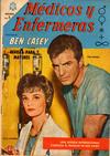 Cover for Médicos y Enfermeras (Editorial Novaro, 1963 series) #21 [Edición española]