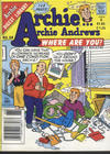 Cover for Archie... Archie Andrews Where Are You? Comics Digest Magazine (Archie, 1977 series) #68 [Canadian and British]