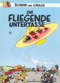 Cover Thumbnail for Blondin und Cirage: Die fliegende Untertasse (Heinzelmännchen Verlag, 1987 series)