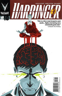 Cover Thumbnail for Harbinger (Valiant Entertainment, 2012 series) #18 [Cover A - Michael Walsh]