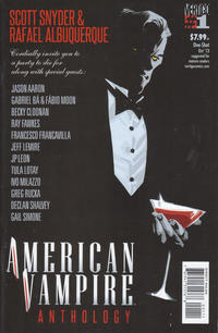 Cover Thumbnail for American Vampire Anthology (DC, 2013 series) #1