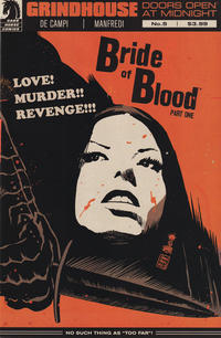Cover Thumbnail for Grindhouse: Doors Open at Midnight (Dark Horse, 2013 series) #5