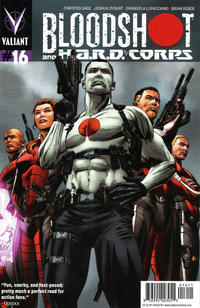 Cover Thumbnail for Bloodshot and H.A.R.D.Corps (Valiant Entertainment, 2013 series) #16 [Cover A - Patrick Zircher]