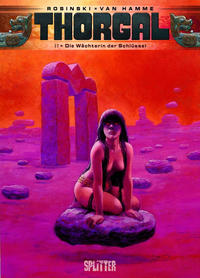 Cover Thumbnail for Thorgal (Splitter Verlag, 2011 series) #17 - Die Wächterin der Schlüssel