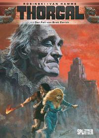 Cover Thumbnail for Thorgal (Splitter Verlag, 2011 series) #6 - Der Fall von Brek Zarith