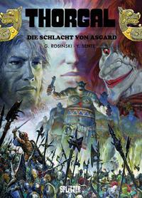 Cover Thumbnail for Thorgal (Splitter Verlag, 2011 series) #32 - Die Schlacht von Asgard