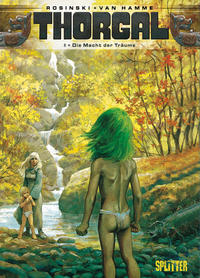 Cover Thumbnail for Thorgal (Splitter Verlag, 2011 series) #8 - Die Macht der Träume