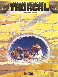 Cover Thumbnail for Thorgal (Splitter Verlag, 2011 series) #13 - Tödliche Sonne