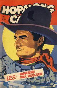 Cover Thumbnail for Hopalong Cassidy (Sefyrforlaget, 1953 series) #7/1953