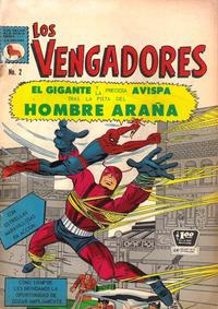 Cover Thumbnail for Los Vengadores (Editora de Periódicos La Prensa S.C.L., 1965 series) #2