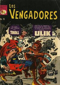 Cover Thumbnail for Los Vengadores (Editora de Periódicos La Prensa S.C.L., 1965 series) #73