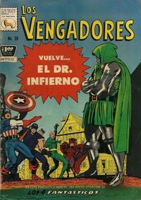 Cover Thumbnail for Los Vengadores (Editora de Periódicos La Prensa S.C.L., 1965 series) #58