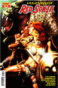 Cover Thumbnail for Legends of Red Sonja (Dynamite Entertainment, 2013 series) #4