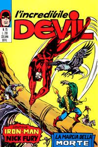 Cover Thumbnail for L'Incredibile Devil (Editoriale Corno, 1970 series) #75