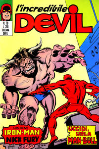 Cover Thumbnail for L'Incredibile Devil (Editoriale Corno, 1970 series) #78