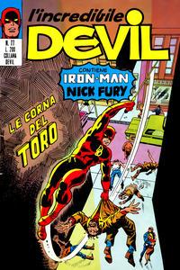 Cover Thumbnail for L'Incredibile Devil (Editoriale Corno, 1970 series) #77