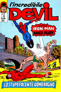 Cover Thumbnail for L'Incredibile Devil (Editoriale Corno, 1970 series) #76