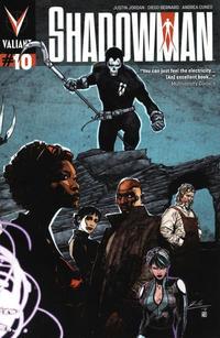Cover Thumbnail for Shadowman (Valiant Entertainment, 2012 series) #10 [Cover B - Roberto de la Torre]