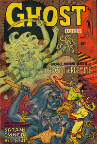 Cover Thumbnail for Ghost Comics (Superior Publishers Limited, 1952 ? series) #5