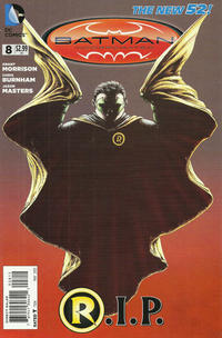 Cover Thumbnail for Batman Incorporated (DC, 2012 series) #8 [Second Printing]