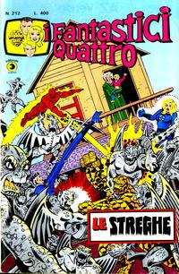 Cover Thumbnail for I Fantastici Quattro (Editoriale Corno, 1971 series) #212