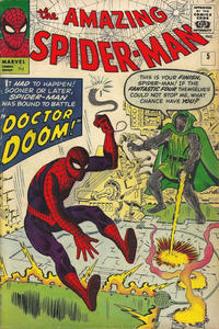 Cover Thumbnail for The Amazing Spider-Man (Marvel, 1963 series) #5 [British]