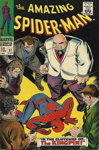 Cover Thumbnail for The Amazing Spider-Man (Marvel, 1963 series) #51 [British Price Variant]