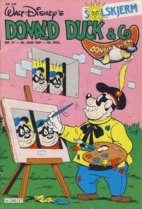 Cover Thumbnail for Donald Duck & Co (Hjemmet / Egmont, 1948 series) #27/1987