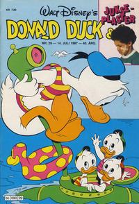 Cover Thumbnail for Donald Duck & Co (Hjemmet / Egmont, 1948 series) #29/1987
