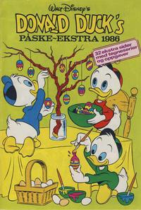 Cover Thumbnail for Donald Duck & Co Ekstra [Bilag til Donald Duck & Co] (Hjemmet / Egmont, 1985 series) #påske 1986