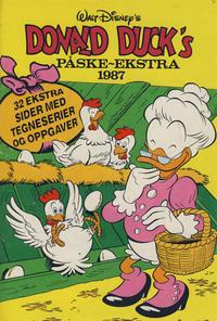 Cover Thumbnail for Donald Duck & Co Ekstra [Bilag til Donald Duck & Co] (Hjemmet / Egmont, 1985 series) #påske 1987