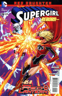 Cover Thumbnail for Supergirl (DC, 2011 series) #29 [Direct Sales]