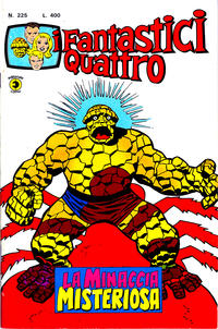 Cover Thumbnail for I Fantastici Quattro (Editoriale Corno, 1971 series) #225