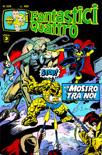 Cover Thumbnail for I Fantastici Quattro (Editoriale Corno, 1971 series) #228