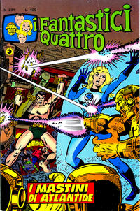 Cover Thumbnail for I Fantastici Quattro (Editoriale Corno, 1971 series) #231