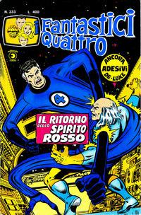 Cover Thumbnail for I Fantastici Quattro (Editoriale Corno, 1971 series) #233