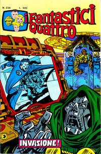 Cover Thumbnail for I Fantastici Quattro (Editoriale Corno, 1971 series) #234