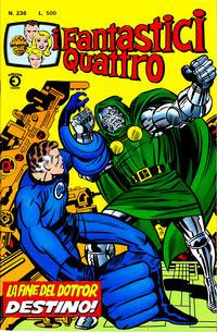 Cover Thumbnail for I Fantastici Quattro (Editoriale Corno, 1971 series) #236