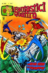 Cover Thumbnail for I Fantastici Quattro (Editoriale Corno, 1971 series) #242