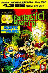 Cover Thumbnail for I Fantastici Quattro (Editoriale Corno, 1971 series) #250