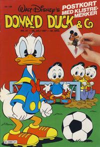 Cover Thumbnail for Donald Duck & Co (Hjemmet / Egmont, 1948 series) #31/1987
