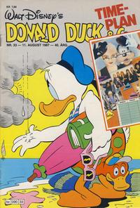 Cover Thumbnail for Donald Duck & Co (Hjemmet / Egmont, 1948 series) #33/1987