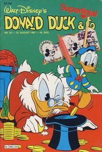 Cover Thumbnail for Donald Duck & Co (Hjemmet / Egmont, 1948 series) #34/1987
