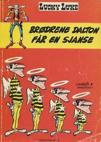 Cover Thumbnail for Lucky Luke (Nordisk Forlag, 1973 series) #2 - Brødrene Dalton får en sjanse