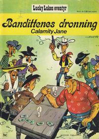 Cover Thumbnail for Lucky Luke (Nordisk Forlag, 1973 series) #4 - Bandittenes dronning Calamity Jane