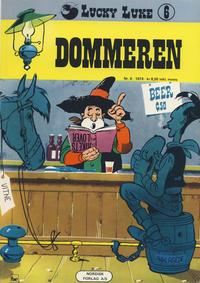 Cover Thumbnail for Lucky Luke (Nordisk Forlag, 1973 series) #6 - Dommeren