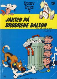 Cover Thumbnail for Lucky Luke (Nordisk Forlag, 1973 series) #7 - Jakten på brødrene Dalton