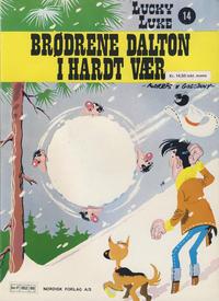 Cover Thumbnail for Lucky Luke (Nordisk Forlag, 1973 series) #14 - Brødrene Dalton i hardt vær