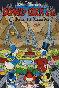 Cover Thumbnail for Donald Duck & Co Tilbake til Xanadu [Bilag til Donald Duck & Co] (Hjemmet / Egmont, 1991 series)